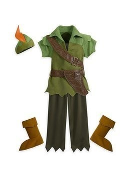 Disney Store Peter Pan Costume For Kids - 3 Years