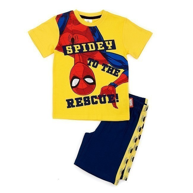 Disney Store Spider-Man Shortie Pyjamas - 2-3 Years