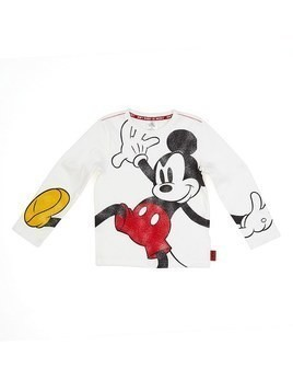 Disney Store Mickey Mouse Long Sleeved T-Shirt For Kids - 3 Years