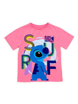 Stitch Surf T-Shirt For Kids - 11-12 Years