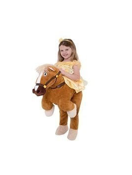 Belle With Philippe Costume For Kids