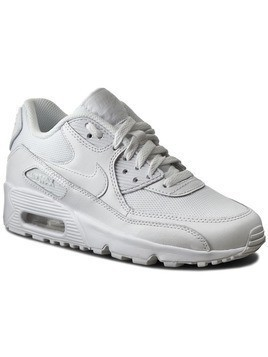 Buty NIKE - Air Max 90 Mesh (GS) 833418 100 White/White