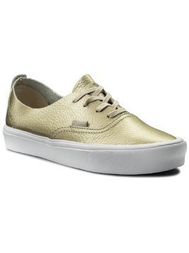 Tenisówki VANS - Authentic Decon VN0A38ERJYQ (Leather) Gold