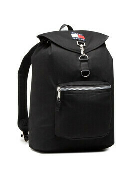 Plecak TOMMY JEANS - Tjm Heritage Flap Backpack AM0AM07144 BDS
