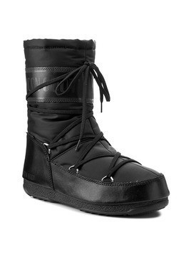 Śniegowce MOON BOOT - W.E. Soft Shade Mid 24004600001 Black
