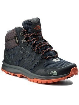 Trekkingi THE NORTH FACE - Litewave Fastpack Mid Gtx GORE-TEX T92Y8PZFZ Urban Navy/Nasturtium Orange