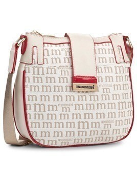 Torebka MONNARI - BAG3210-015 Beige With White