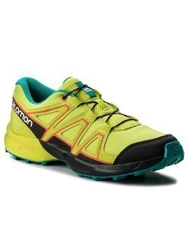 Trekkingi SALOMON - Speedcross J 401294 14 M0 Acid Lime/Night Sky/Scarlet Ibis