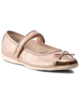 Półbuty CLARKS - Dance Mad Inf 261244976105 Rose Gold Lea