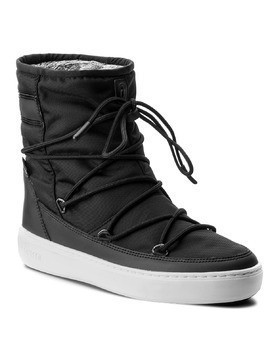 Śniegowce MOON BOOT - Pulse Nylon Plus Wp 24102500006 Nero/Argento