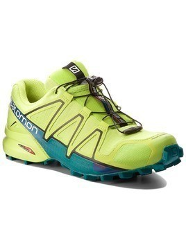 Buty SALOMON - Speedcross 4 400779 29 V0 Acid Lime/Lime Green/Deep Lake