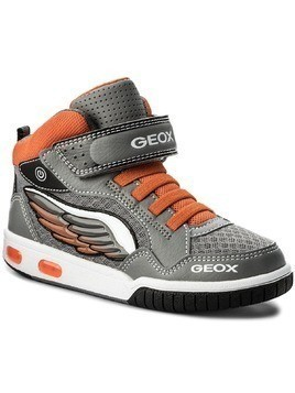 Trzewiki GEOX - J Gregg A J8247A 014BU C0036 D Grey/Orange