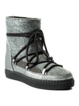 Buty INUIKII - Sneaker Wedge Dusty 30135 Felter D/Grey
