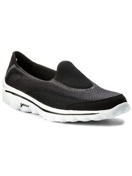 Buty SKECHERS - Go Walk 2 13590/BKW Black/White