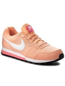 Buty NIKE - Md Runner 2 749869 801 Sunset Glow/White/Racer Pink