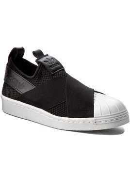Buty adidas - Superstar SlipOn W BY2884 Cblack/Cblack/Ftwwht