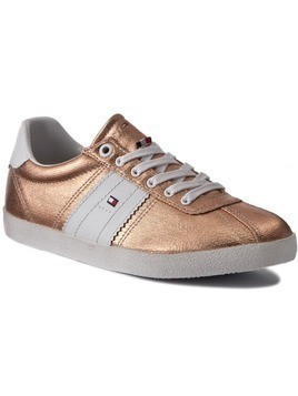 Sneakersy TOMMY HILFIGER - Lizzie 1D1 FW0FW00417 Rose Gold 703