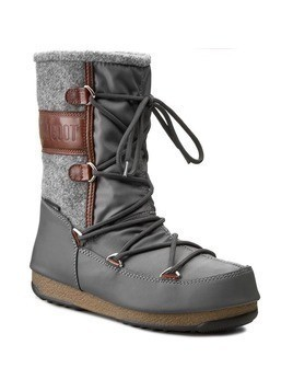 Śniegowce MOON BOOT - W. E. Vienna Felt 24004400001 Grey/Brown