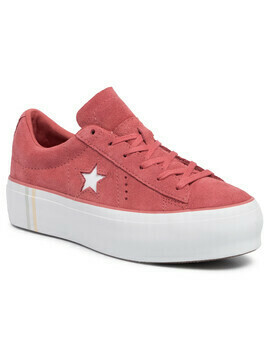 Sneakersy CONVERSE - 565379C Light Redwood/White/White