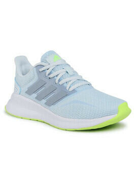 Buty adidas - Runfalcon FW5144 Sky Tint/Tactile Blue/Signal Green