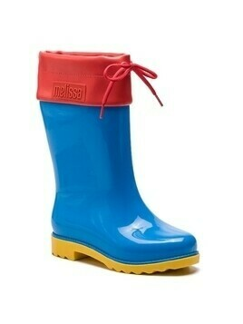 Kalosze MELISSA - Rain Boot Inf 32423 Blue/Red/Yellow 53318