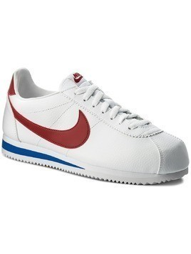 Buty NIKE - Classic Cortez Leather 749571 154 White/Varisty Red