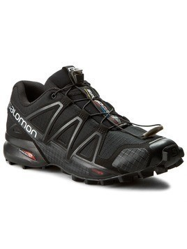 Buty SALOMON - Speedcross 4 383130 26 V0 Black/Black/Black Metallic