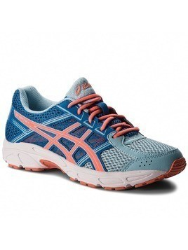 Buty ASICS - Gel-Contend 4 GS C707N Porcelain Blue/Flash Coral/Directoire Blue 1406