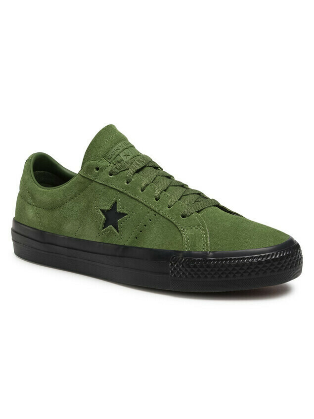 Sneakersy CONVERSE - One Star Pro Ox 166838C Cypress Green/Black/Black