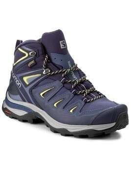 Trekkingi SALOMON - X Ultra 3 Mid Gtx W GORE-TEX 398691 22 V0 Crown Blue/Evening Blue/Sunny Lime