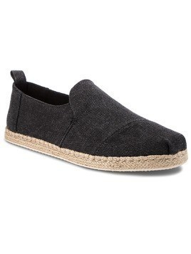 Espadryle TOMS - Deconstructed Alpargata Rope 10011621 Black Washed