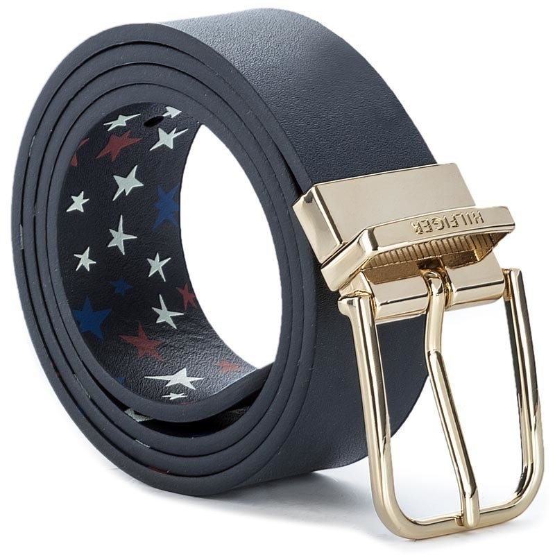 Pasek Damski TOMMY HILFIGER - Fancy Belt 3.0CM Rev AW0AW04418 75 902