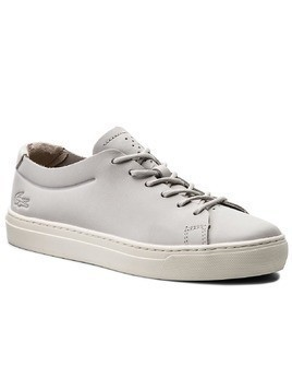 Sneakersy LACOSTE - L.12.12 Unlined 118 2 Caw 7-35CAW0017235 Lt Gry/Off Wht