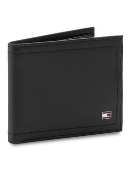 Mały Portfel Męski TOMMY HILFIGER - Harry Mini CC Wallet AM0AM01256 002