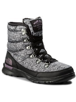 Śniegowce THE NORTH FACE - Thermoball Lace II T92T5LYSR Burnished Houndstooth Print/Black Plum