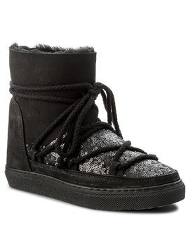 Buty INUIKII - Sneaker Wedge Sequin 30110 Black