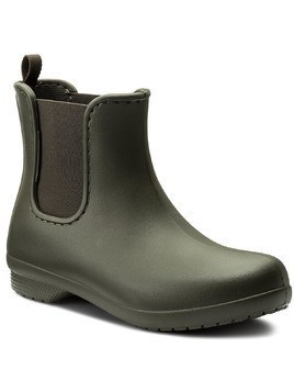 Kalosze CROCS - Freesail Chelsea Boot W 204630 Dark Camo Green