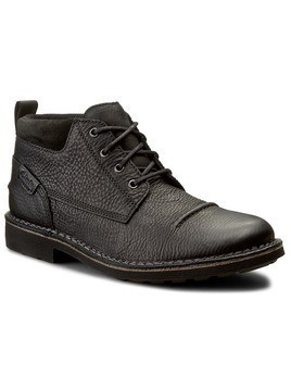 Trzewiki CLARKS - Lawes Top 261193157 Black Leather