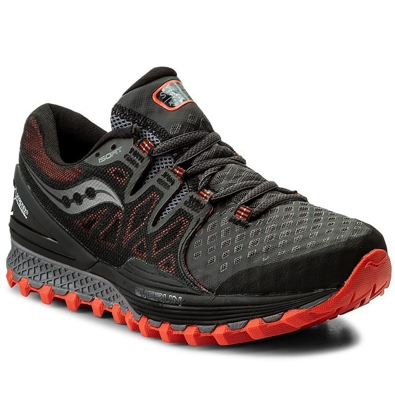 Buty SAUCONY - Xodus Iso 2 GORE-TEX S20389-1 Grey/Red