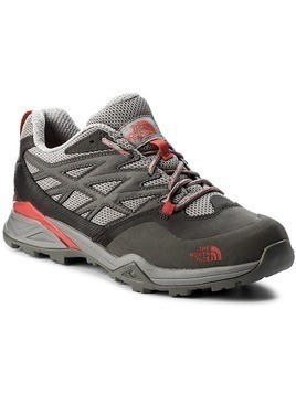 Trekkingi THE NORTH FACE - Hedgehog Hike GTX GORE-TEX NF0CDF4QDK Dark Gull Grey/Melon Red 085