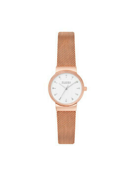 Zegarek SKAGEN - Ancher SKW7201 Rose Gold/Rose Gold