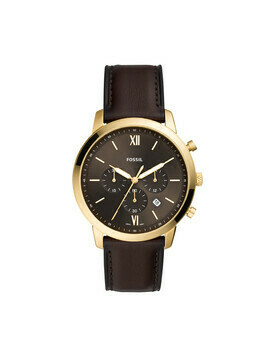 Zegarek FOSSIL - Neutra Chrono FS5763 Brown/Gold