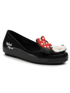 Baleriny MELISSA - Mel Sweet Love + Minnie Inf 32807 Black 01003