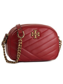 Torebka TORY BURCH - Kira Chevron Camera Bag 60227 Red Apple 611