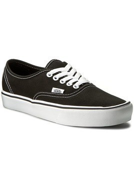 Tenisówki VANS - Authentic Lite VN0A2Z5J187 (Canvas) Black/White