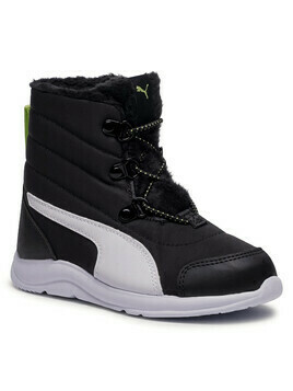 Śniegowce PUMA - Fun Racer Boot Ac Ps 194281 01 Puma Black/Sharp Green