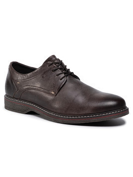 Półbuty LASOCKI FOR MEN - MI08-C597-588-14 Brown