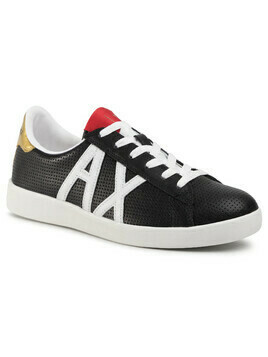 Sneakersy ARMANI EXCHANGE - XUX016 XCC60 00002 Black Germany