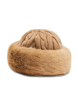 Czapka BARTS - Fur Cable Bandhat 16300242 Light Brown