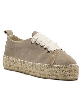 Espadryle MANEBI - Sneakers D W 1.9 E0 Vintage Taupe Suede